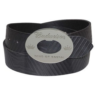Buxton Bow Tie Leather Belt