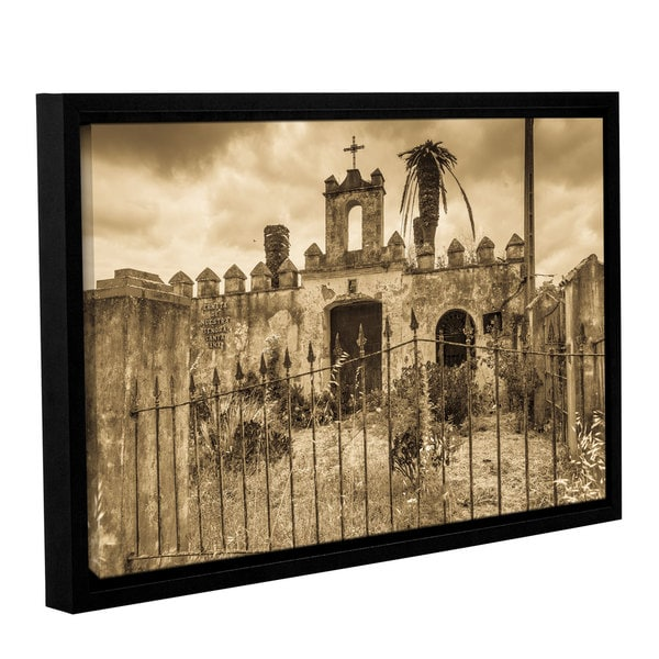 Andrew Lever's 'Senora Santa Ana Chapel' Gallery Wrapped Floater-framed Canvas