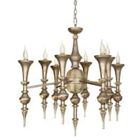 Van Teal Beyond the Liimit Goldtone Metal Chandelier