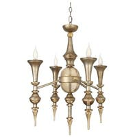 Van Teal 611950 Outer Limit Goldtone Finish Chandelier
