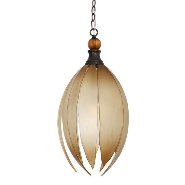 Van Teal Mesilla Bronze/Brown Metal/Acrylic Chandelier