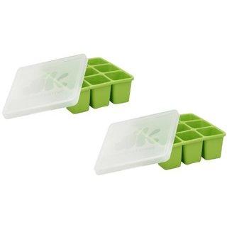 Annabel Karmel Freshfoods Freezer Tray With Lid - 2-Pack