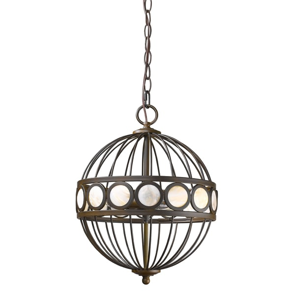 Acclaim Lighting Aria Oil Rubbed Bronze Steel Indoor 3-light Pendant