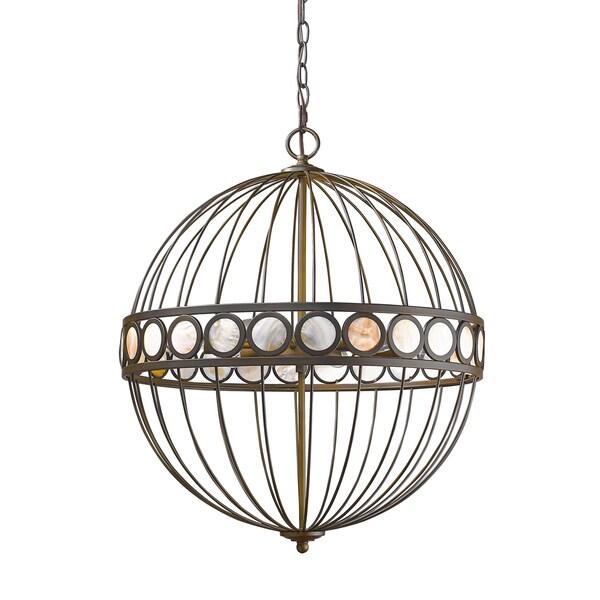 Acclaim Lighting Aria Oil-rubbed Bronze Metal Indoor 6-light Pendant