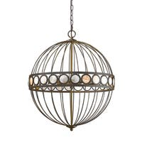 Acclaim Lighting Aria Oil-rubbed Bronze Metal Indoor 6-light Pendant