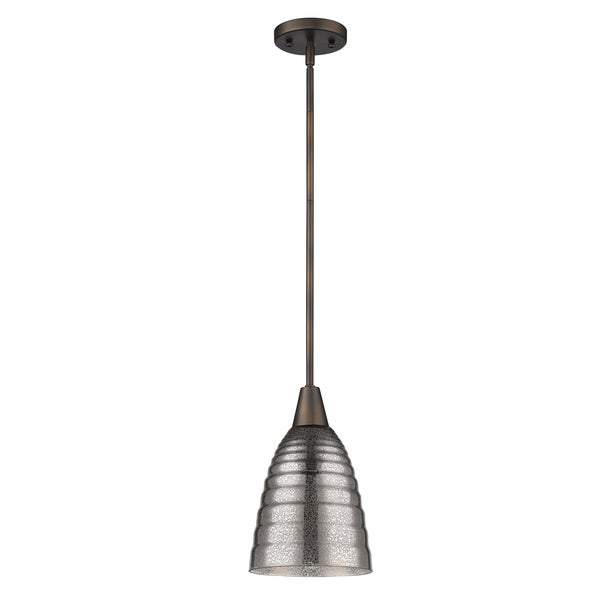Acclaim Lighting Brielle Indoor 1-Light Pendant With Glass Shade In Oil Rubbed Bronze