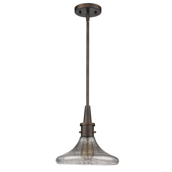 Acclaim Lighting Brielle Oil Rubbed Bronze 1-light Indoor Pendant With Glass Shade