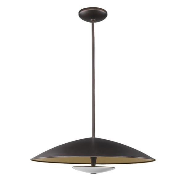 Acclaim Lighting Aurora Oil-rubbed Bronze Metal LED Pendant