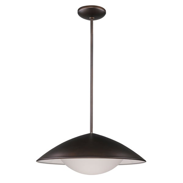 Acclaim Lighting Aurora Oil-rubbed Bronze-finished Metal LED Pendant