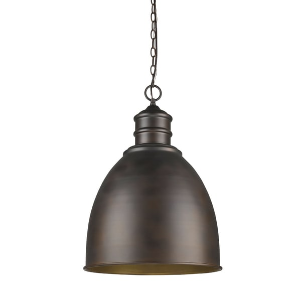 Acclaim Lighting Colby Oil-rubbed Bronze Metal Shade Indoor 1-light Pendant