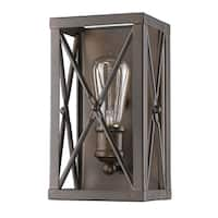Acclaim Lighting Brooklyn Indoor 1-Light Sconce In Oil Rubbed Bronze