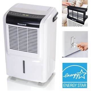 Honeywell 50-Pint Energy Star Dehumidifier with Built-In Vertical Pump