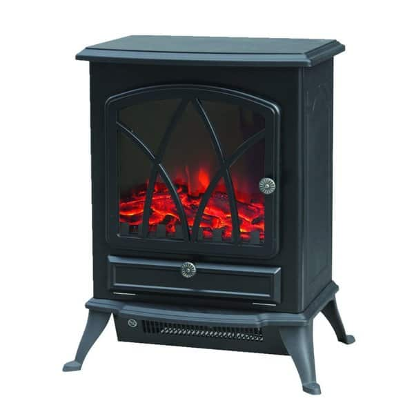 Shop Trustech Electric Stove Heater Portable Home Fireplace With