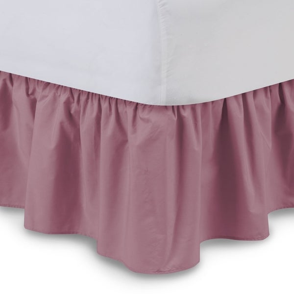Harmony Lane Ruffled 18-inch Drop Bed Skirt