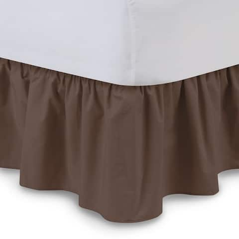 Harmony Lane Ruffled 18-inch Drop Bed Skirt