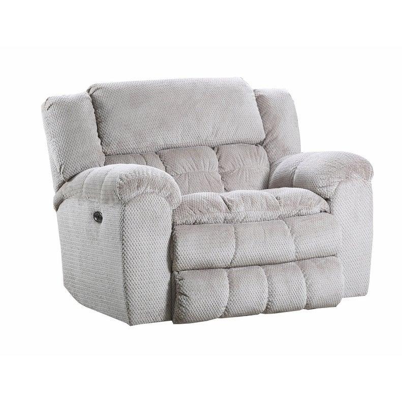 Simmons Upholstery Madeline Sandstone Cuddler Recliner, N...