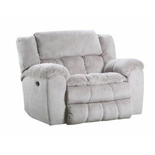 Simmons Upholstery Madeline Sandstone Cuddler Recliner