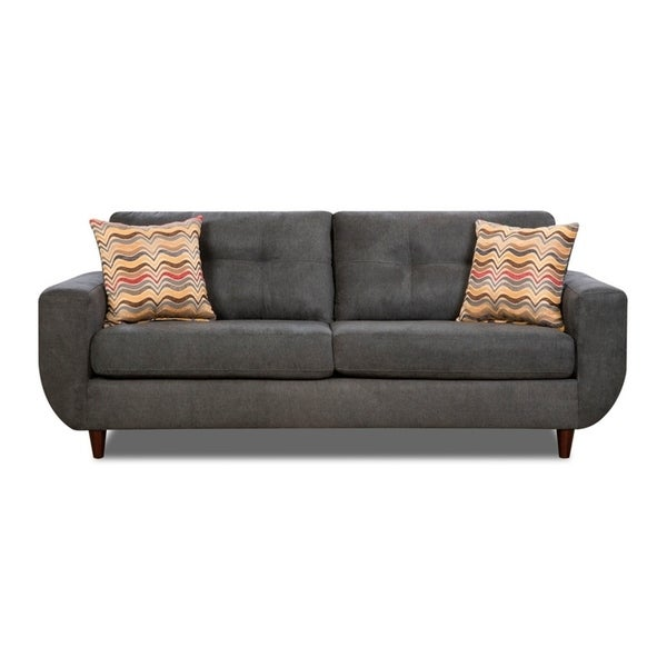 Simmons Upholstery Killington Graphite Sofa