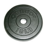 Iron Disc Weight Plate, 10 lb