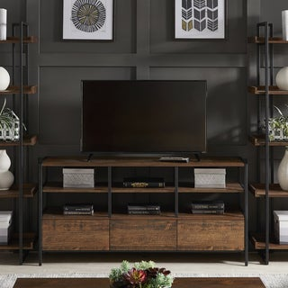Link to Corey Rustic Brown TV Stand Console Tables by iNSPIRE Q Modern Similar Items in Kitchen Carts