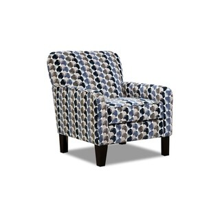 Simmons Upholstery Bubbles Ink Accent Chair