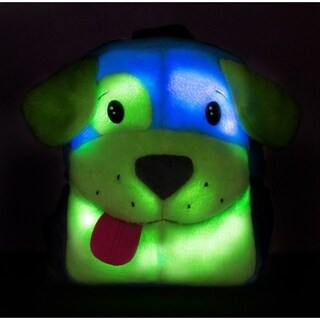 Ecogear Brite Buddies Puppy Plush backpack with LED flashing lights