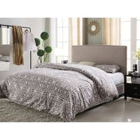 Best Master Furniture YY1001 Upholstered Full/ Queen Panel Head Board