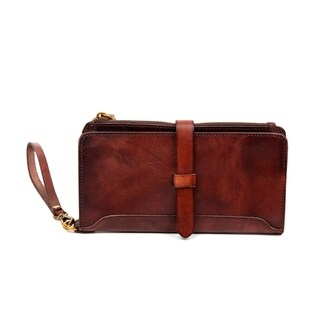 Old Trend Casey Leather Clutch - S (2 options available)