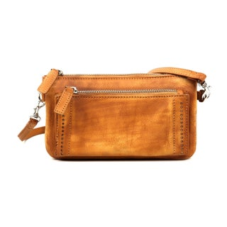 Old Trend Clutch - S (Option: Tan - Zipper - Leather)