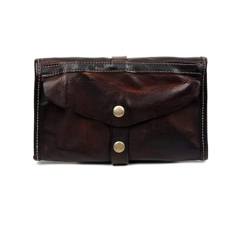 Old Trend Out West Genuine Leather Clutch - Small