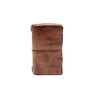 Old Trend Nomad Leather Organizer (Option: Beige)