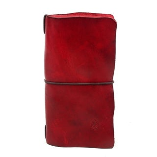 Old Trend Nomad Leather Organizer (Option: Red)
