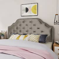 Silas Glam Velvet Full/Queen Headboard by Christopher Knight Home