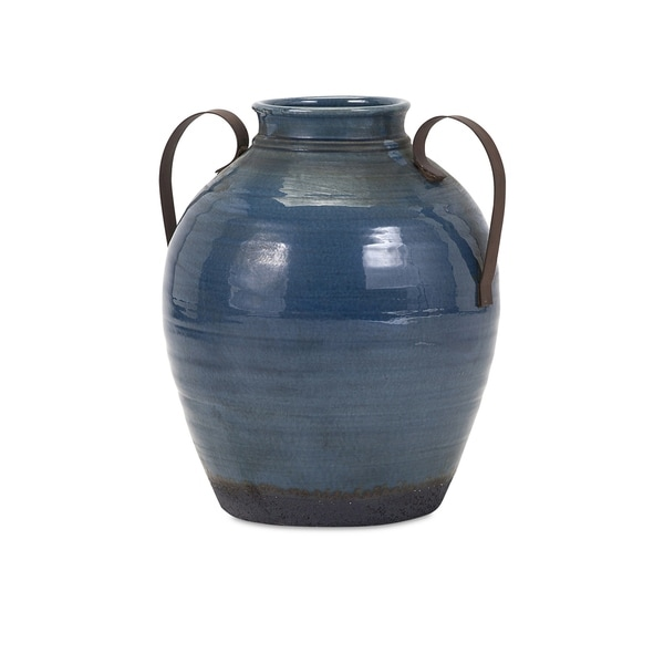 Amazing Small Vase With Metal Handles Free Shipping Today