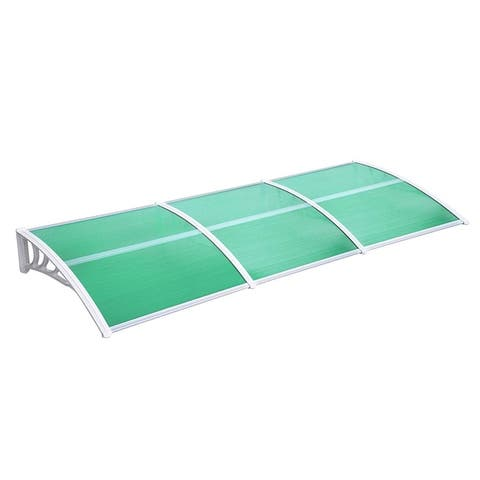 """40""""x120"""" Window Awning Front Door PC Awning Patio Canopy"""