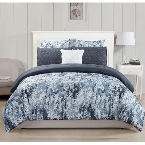 Kensie Staas 6 Piece Comforter Set