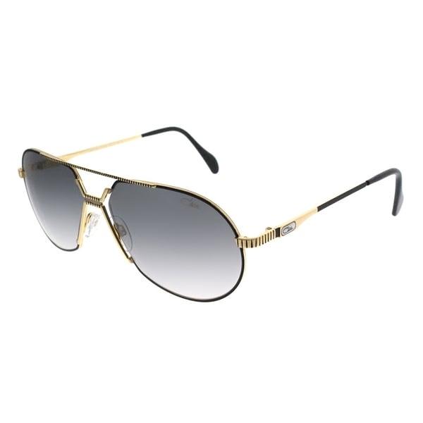 fc8cc8535a Cazal Oval Cazal 968 Legends 001SG Unisex Black Frame Grey Gradient Lens  Sunglasses