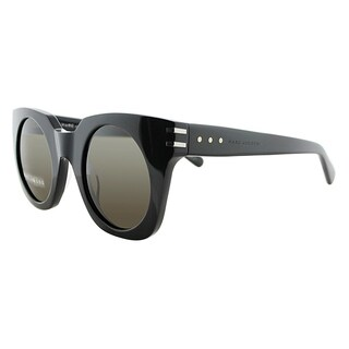 Marc Jacobs Square MJ 532S 807 EJ Unisex Black Frame Brown Lens Sunglasses