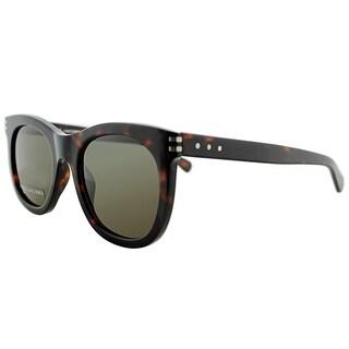 Marc Jacobs Square MJ 565S TVD 8E Unisex Havana Frame Brown Lens Sunglasses