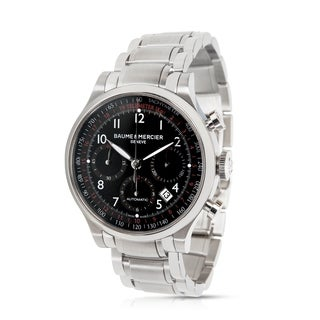Baume & Mercier Capeland Chronograph MOA10062 Men's Stainless Steel Analog Watch