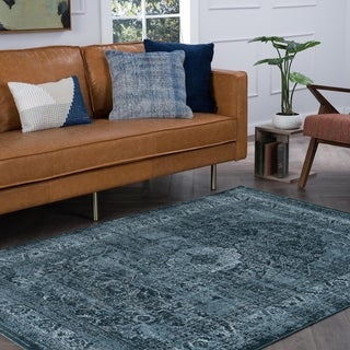 Alise Rugs Essence Transitional Oriental Area Rug - 6'7 x 9'6