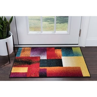 Alise Rhapsody Contemporary Abstract Accent Rug