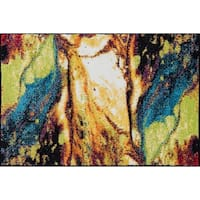 Alise Rugs Rhapsody Contemporary Abstract Scatter Mat Rug - 2' x 3'