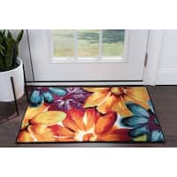Alise Rugs Rhapsody Contemporary Abstract Scatter Mat Rug - multi - 2' x 3'