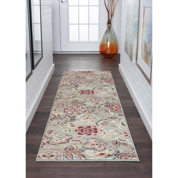 Alise Rugs Decora Contemporary Abstract Runner Rug - 2'3 x 10'