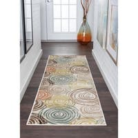 Alise Rugs Decora Contemporary Abstract Runner Rug - 2'3 x 7'3