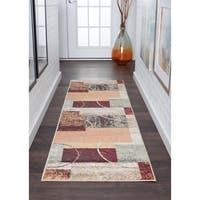 Alise Rugs Decora Contemporary Abstract Runner Rug - multi - 2'3 x 7'3