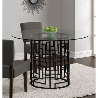 Glass Dining Room & Kitchen Tables For Less   Overstock.com