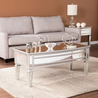 Harper Blvd Tilton Silver Mirrored Glam Cocktail Table