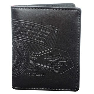 Buxton Bow Tie Two-Fold Wallet with Zip Coin Pocket